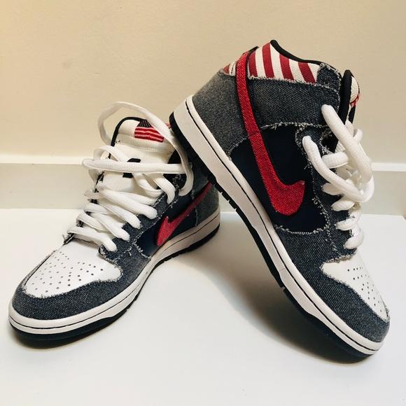 Nike Dunk High Premium Born In The Usa